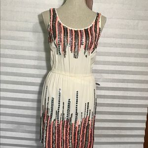 NWT Romeo and Juliet Couture Beaded Tank Dress